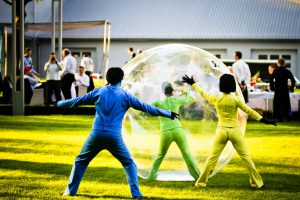 Colored People mit Bubble | Williams Entertainment & Friends